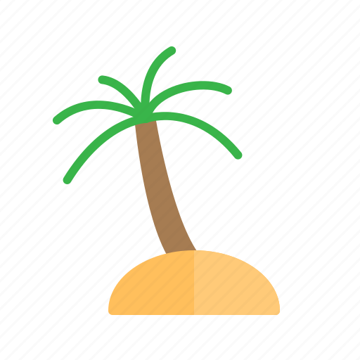 beach, destination, holiday, vacation icon