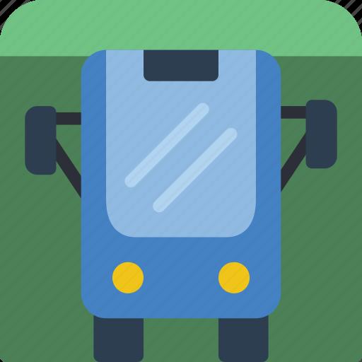 bus, journey, station, tourist, transport, travel icon