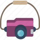 camera, journey, tourist, transport, travel icon