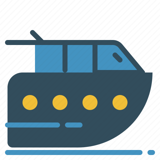 boat, holiday, journey, transport, travel, vacation icon