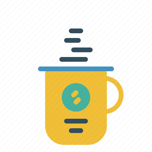 beverage, coffee, drink, holiday, journey, travel, vacation icon