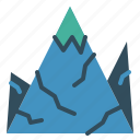 holiday, journey, mountain, travel, vacation icon