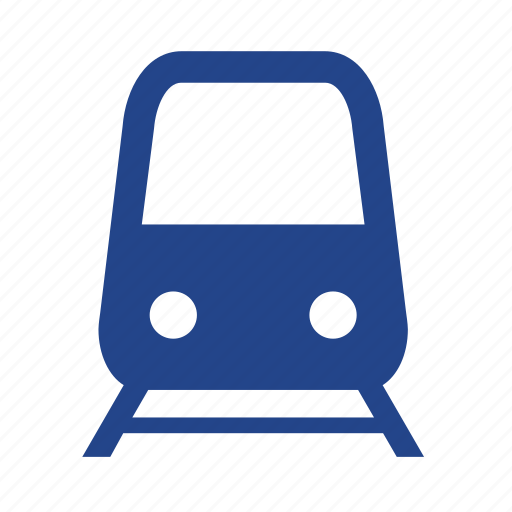 public, rail, railroad, subway, train, transportation, travel icon