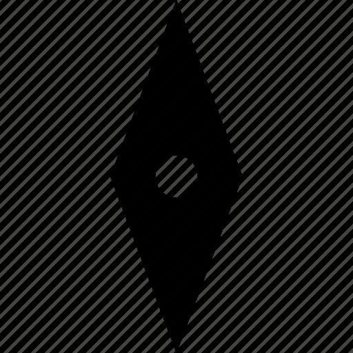 arrow, compass, point icon