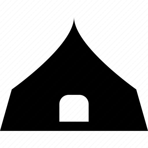 camping, home, house, tent icon