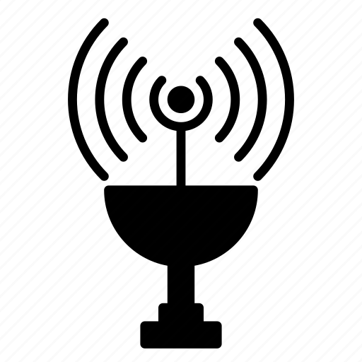 antenna, broadcast, signal, tower, travel, wireless icon