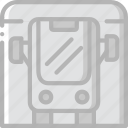 bus, journey, station, tourist, transport, travel icon