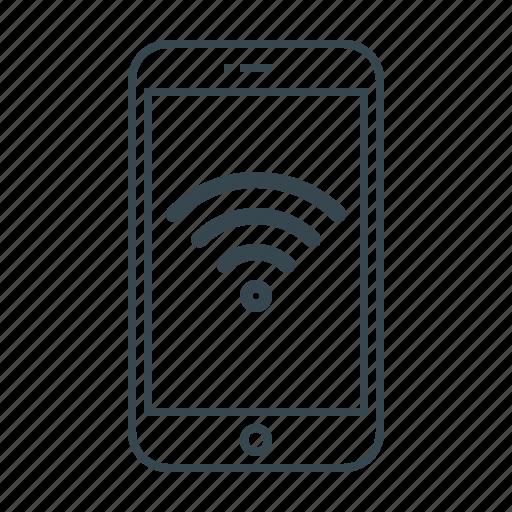 connection, free, free wi-fi, mobile, signal, wi-fi, wifi icon