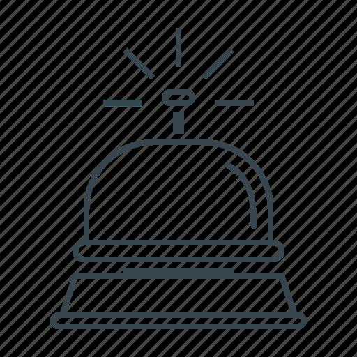 bell, hotel, hotel service, service icon