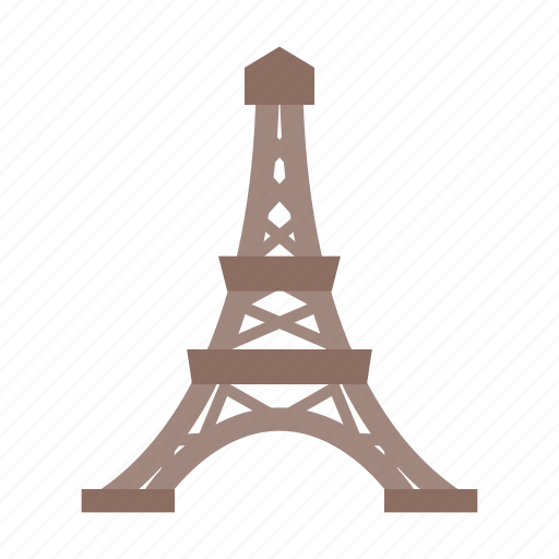 building, eiffel, france, landmark, paris, sight, tower icon