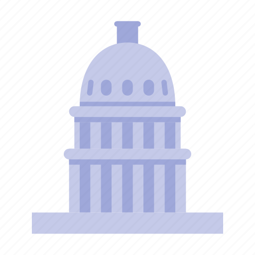 capitol, congress, government, states, united, usa, washington icon