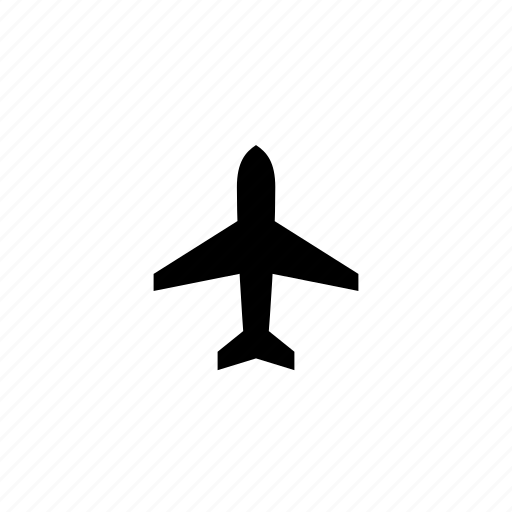 airplane, airport, flight, tourism, travel, vacation icon