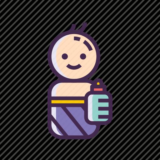 Baby, child, kid, newborn, toddler icon - Download on Iconfinder