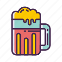 beer, cheers, toast icon