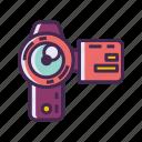 camcorder, handycam, recorder, video camera icon