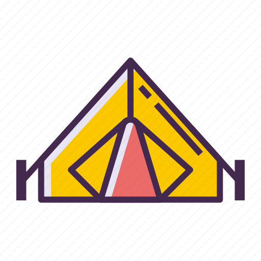 camp, camping, canopy, tent icon