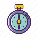 compass, location, navigation, north icon