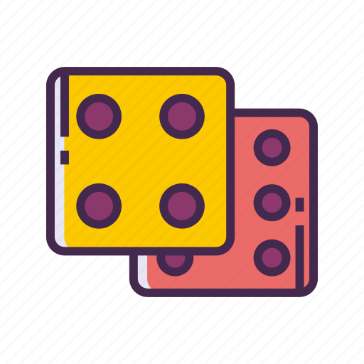 chance, dice, dice roll, game icon
