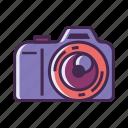 camera, digital camera, dslr, mirrorless camera, photography icon