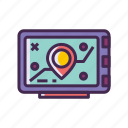 gps, location, map, navigation, navigator icon