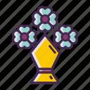 bouquet, flower icon