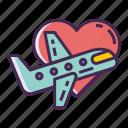 flight, honeymoon, jetsetter, travel
