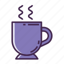 beverage, hot beverage, hot drink, hot tea icon