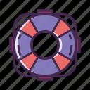 buoy, buoy ring, life buoy, life buoy ring, life float, lifesaver icon