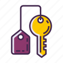 key, keychain icon