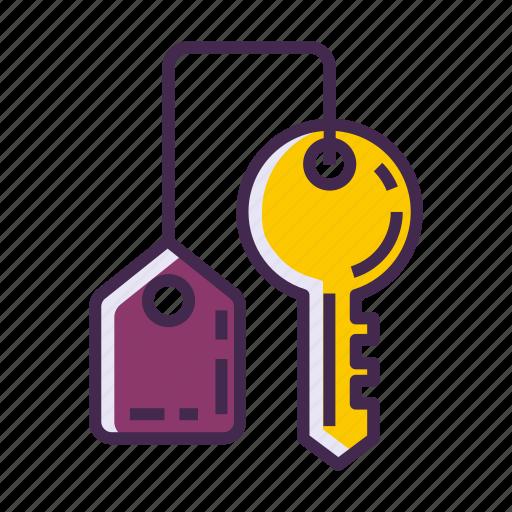 key, keychain icon