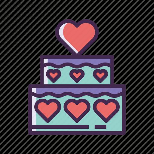 cake, wedding cake icon