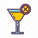 alcohol, cocktail, drink, lemon, lemonade, welcome drink