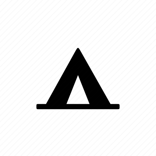 camping, landmark, tent, travel icon