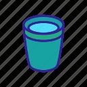 drink, coffee, camping, glass, mug, travel, hot icon