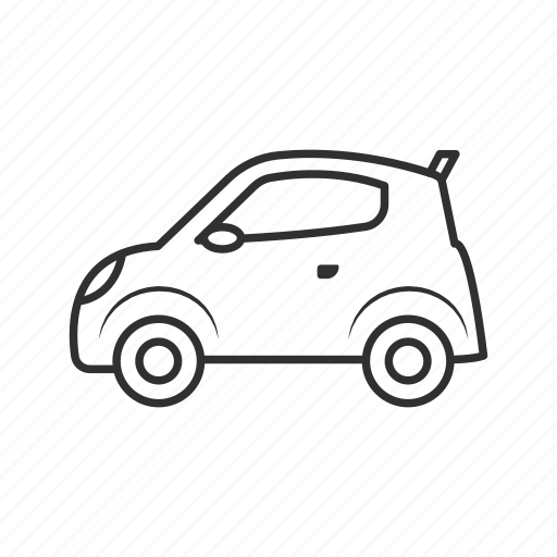 cab, car, cute car, mini car, small car, toycar, vehicle icon
