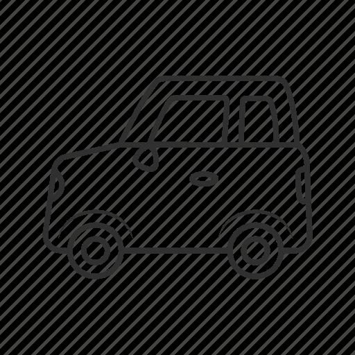 cab, car, recreational vehicle, toy, toycar, transportation, vehicle icon