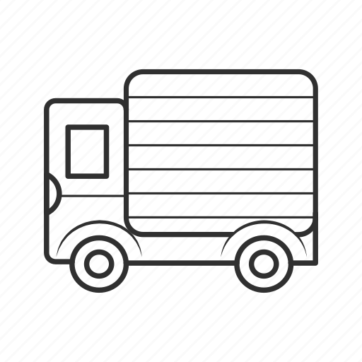 deliver, delivery, delivery truck, drive, emoji, truck, vehicle icon