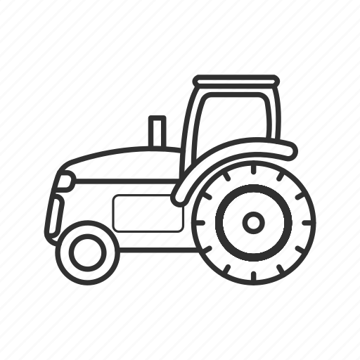 Agriculture, emoji, farm, farming, field, tractor, vehicle icon