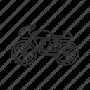 bike, cycle, drive, motorcycle, ride, vintage bike, vintage motorcycle