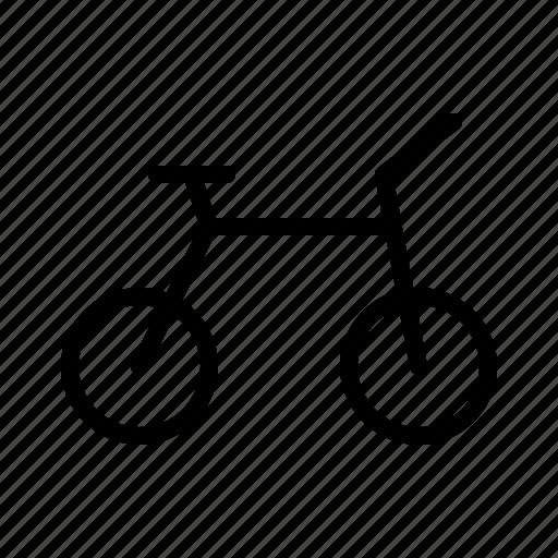 bike, hotel, journey, travel, trip icon