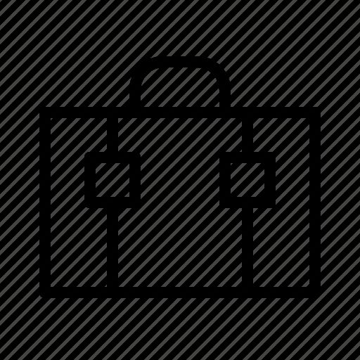briefcase, hotel, journey, travel, trip icon