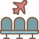 airport, journey, tourist, transport, travel icon