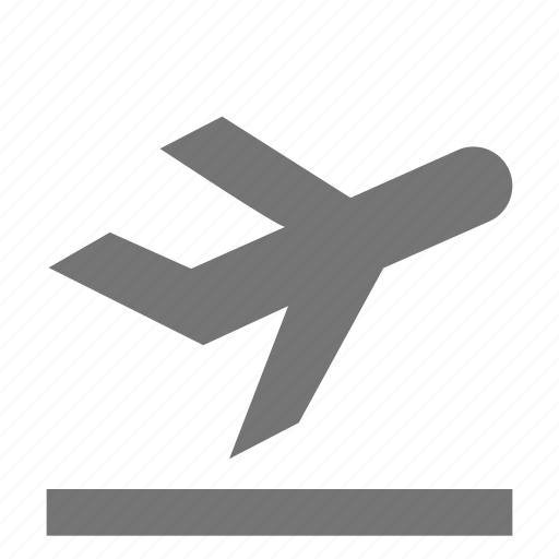 airplane, departure, plane, transportation icon