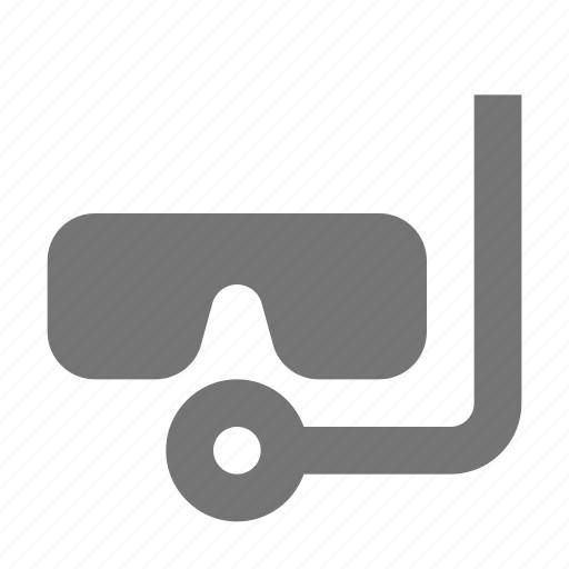 scuba, snorkel icon