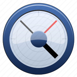 barometer, control, counter, dashboard, device, display, equipment, fuel, gauge, measure, measurement, meter, monitor, pointer, power, scale, speed, test, thermometer, tool, weatherglass icon