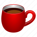 bar, break, cafe, coffee, cup, drink, glass, hot, java, pause, restaurant, stop, tea, tea cup, time, wait icon