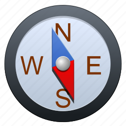 arrow, browser, compass, direction, earth, flag, gauge, geography, gps, instrument, location, map, marker, measurement, navigate, navigation, north, pin, point, pointer, road, safari, sailing, south, tag, target, travel, web, world icon
