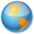 browser, earth, global, globe, internet, map, navigation, network, planet, seo, sphere, travel, universe, web, world icon