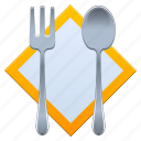 cook, cooking, dinner, eat, eating, food, fork, kitchen, nutrition, porridge, product, restaurant, spoon icon