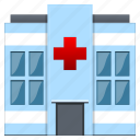 ambulance, building, center, clinic, doctor, emergency, health, healthcare, hospital, house, insurance, medical, medicine, pharmacy icon